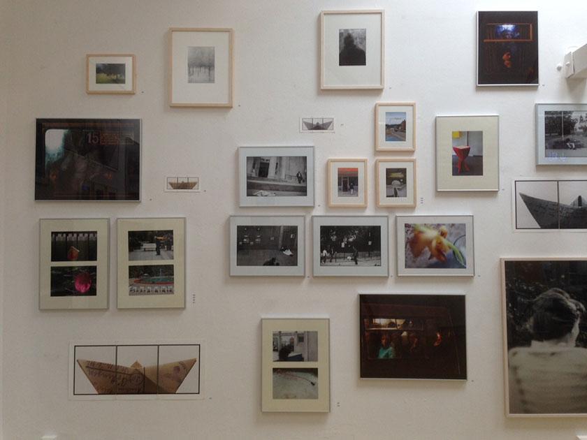KünstlerInnen-Gruppe Sela5 in der Galerie Bernau