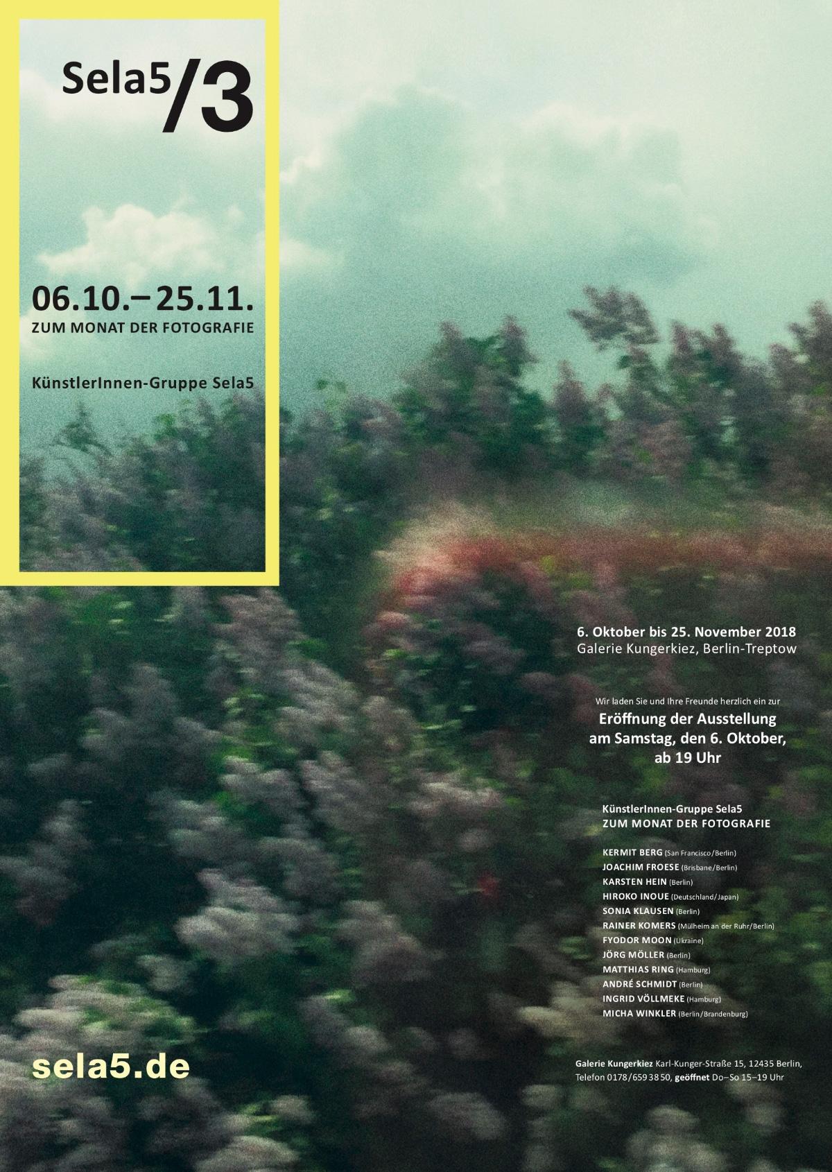 Sela5/3 – Zum Monat der Fotografie in Berlin