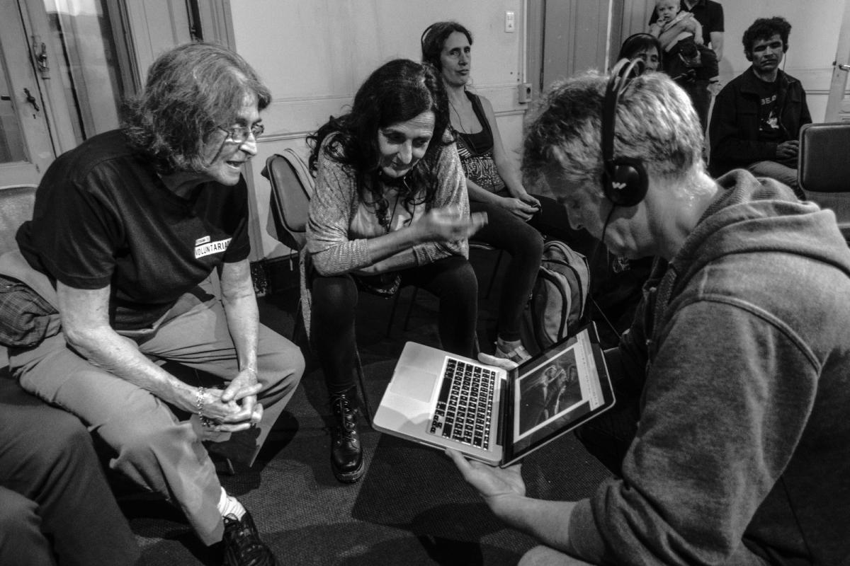 Conferencia de Karsten Hein en Casa Bertolt Brecht, Montevideo, Uruguay